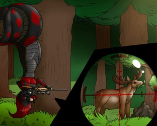 Hunting is not only for sport - 1/2 - art by Shikaro