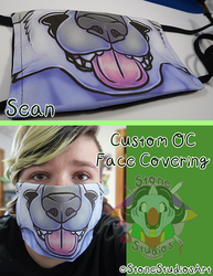 Sean Face Covering Comm