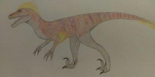 Dino D-Day Velociraptor
