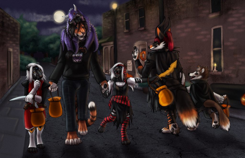 Halloween Commission for Shy