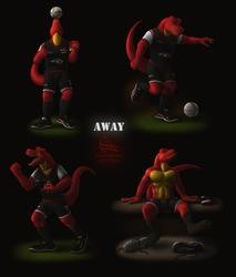 [2013] Rexar - The Player's Photoshoot (Away Kit)