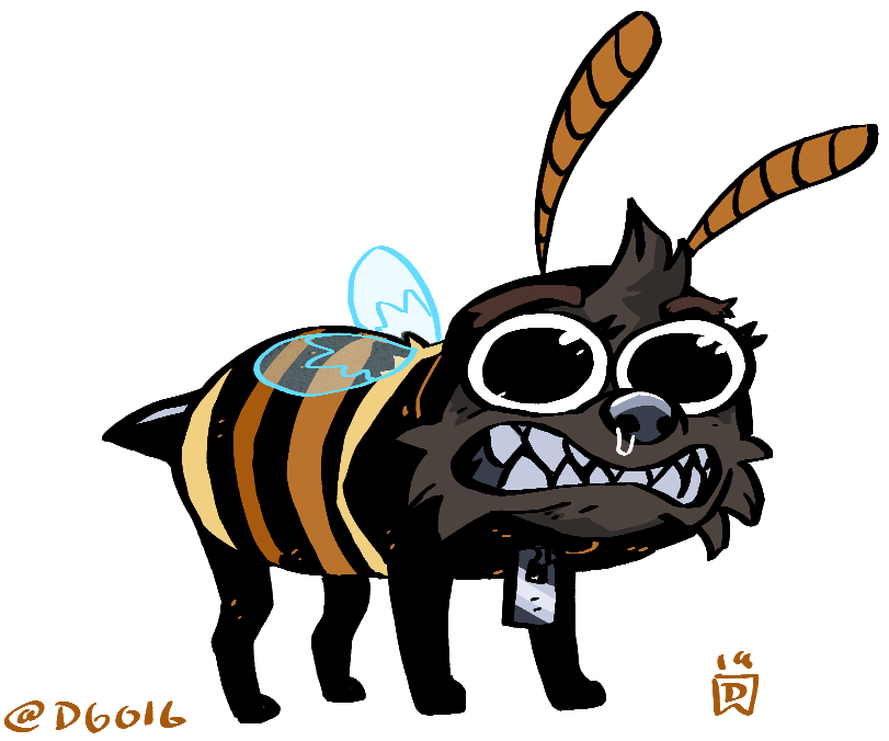Heck off i'm a bee today