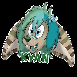 Kyan Headshot Badge