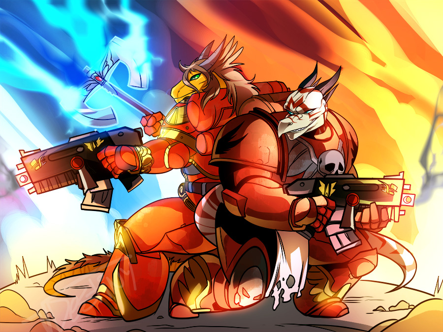 Warhammer 40K Sonas (COMMISSION)