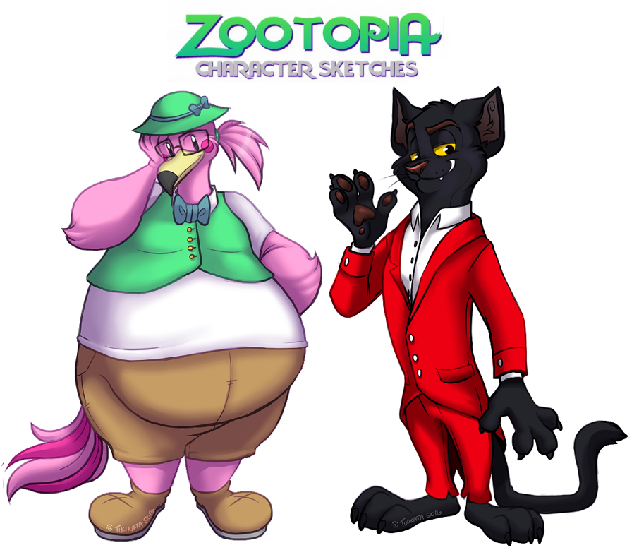 Zootopia Sketches 11 (Commissions)