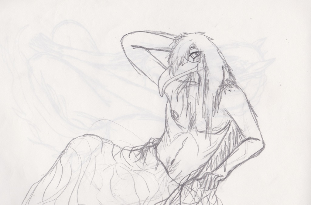 Most recent image: Thoth Pin Up Sketch