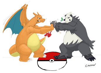 Charizard vs. Pangoro