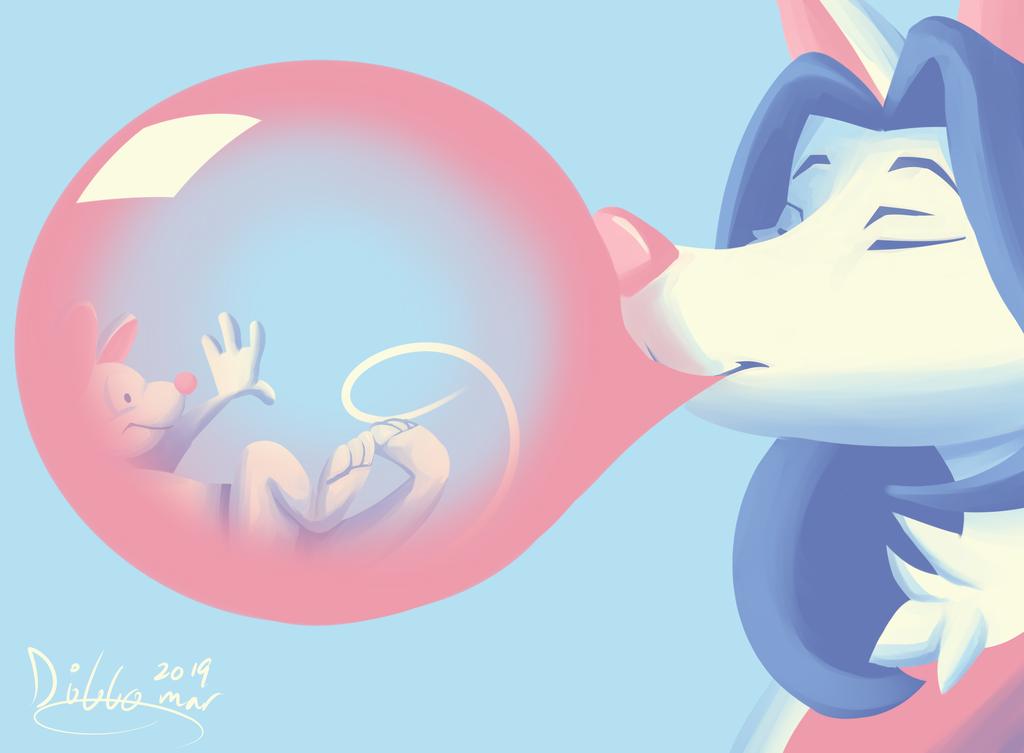 Most recent image: Bubblegum