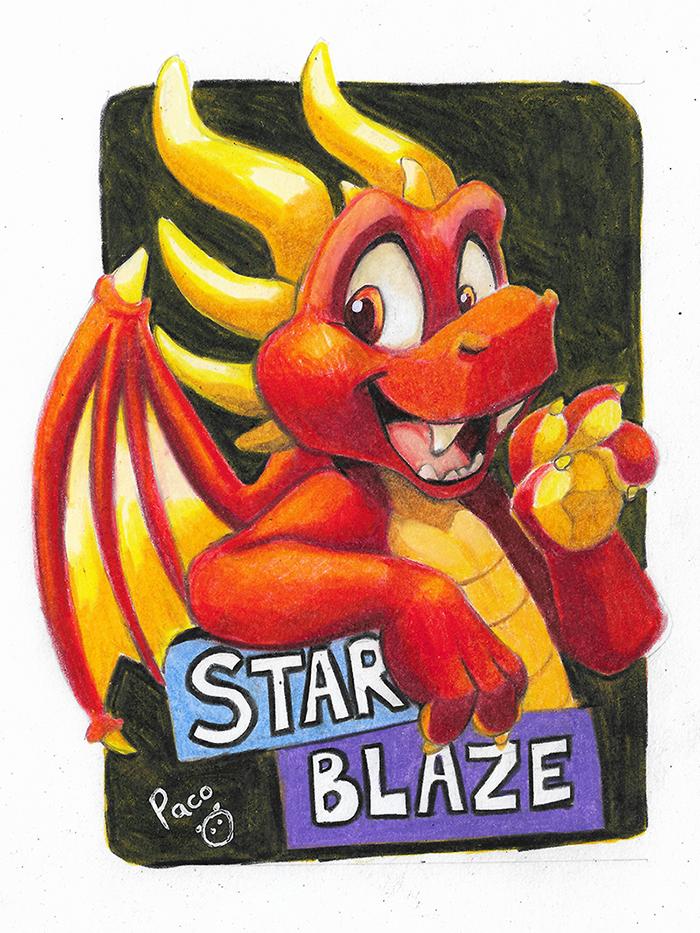 Star Blaze badge