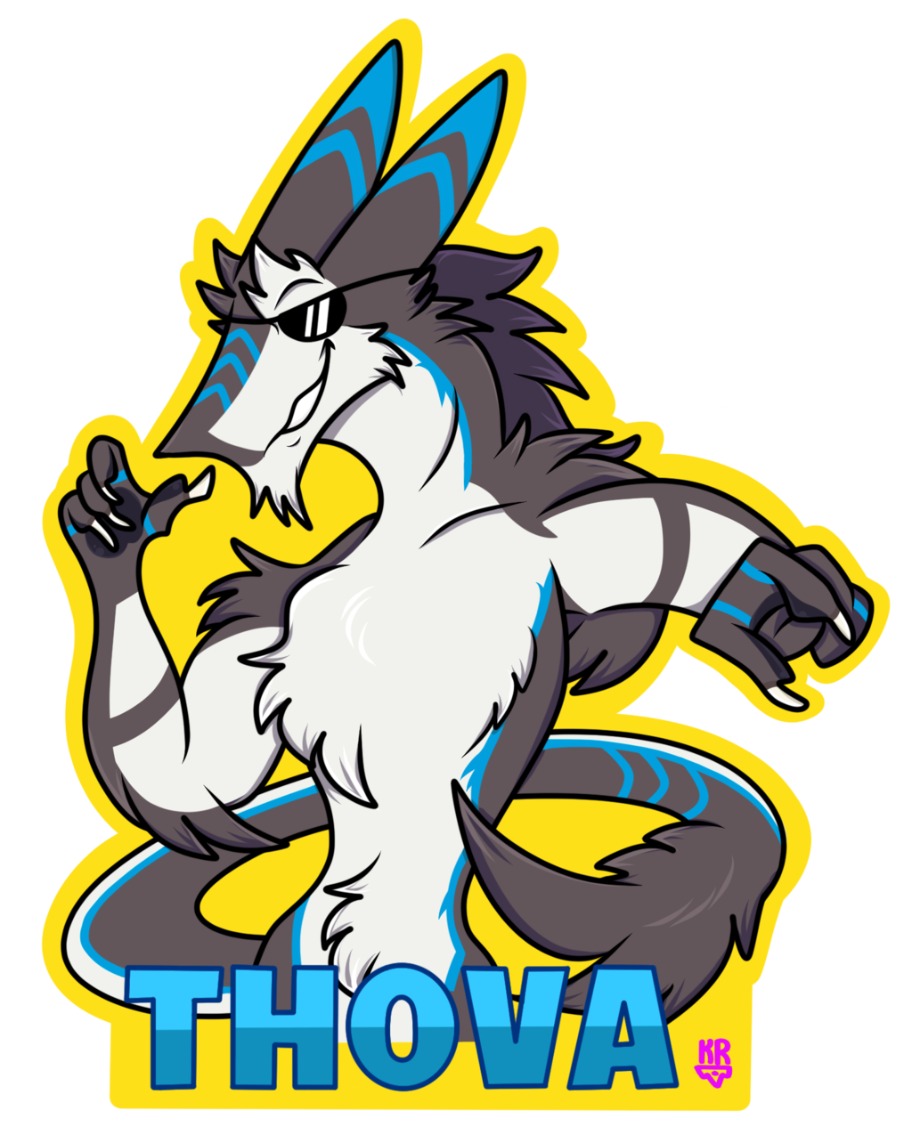 Thova Badge Commission