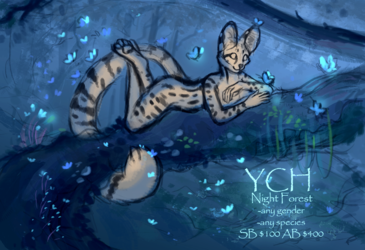 YCH Night Forest