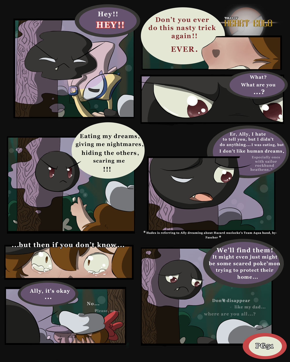 Into Woods PG5: Don't Ever.