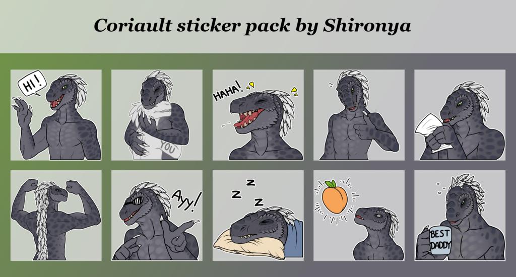 Coriault telegram sticker pack