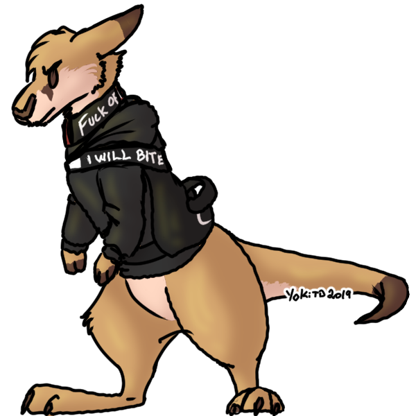 [G] Chibi Large Bite Suit RenegadeRoo