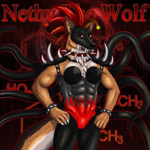 Nethy The Wolf - German Shepherd Wolf [Industrial Theme]