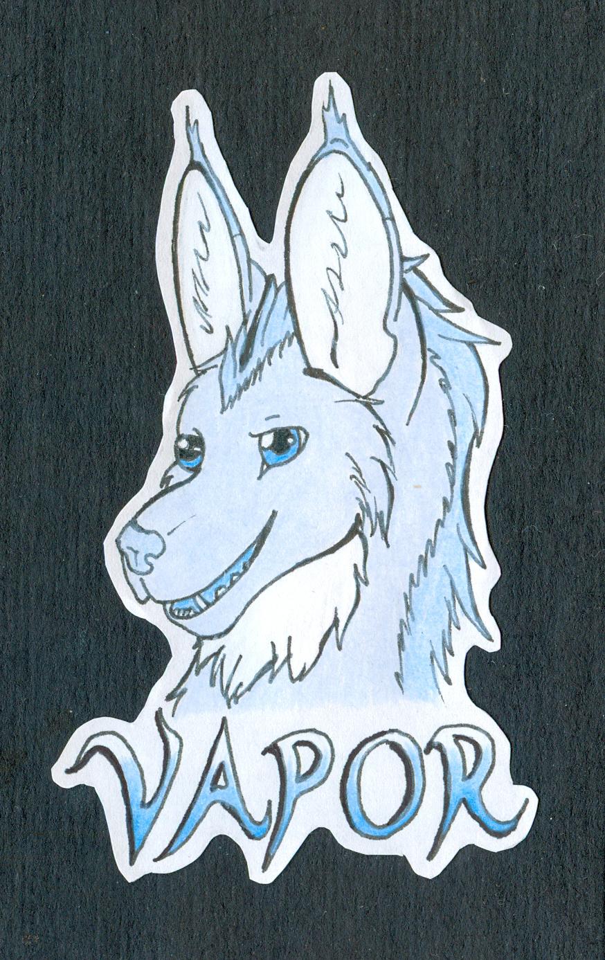 Vapor Badge