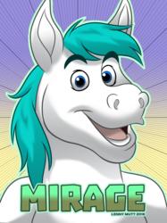Mirage Horse Badge