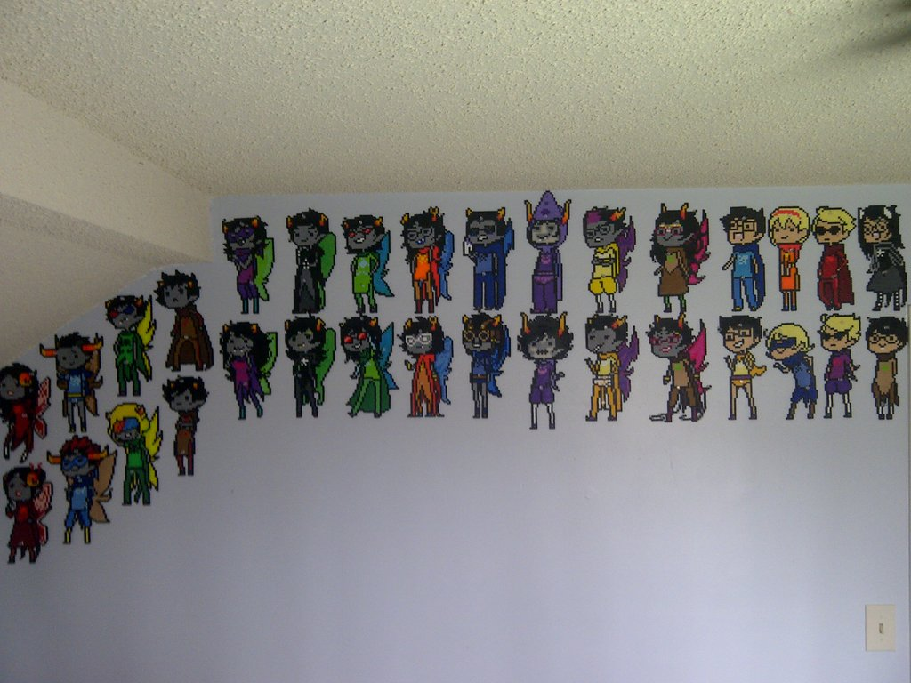 The Great Wall of Homestuck