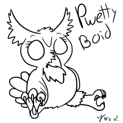 Pwetty Boid