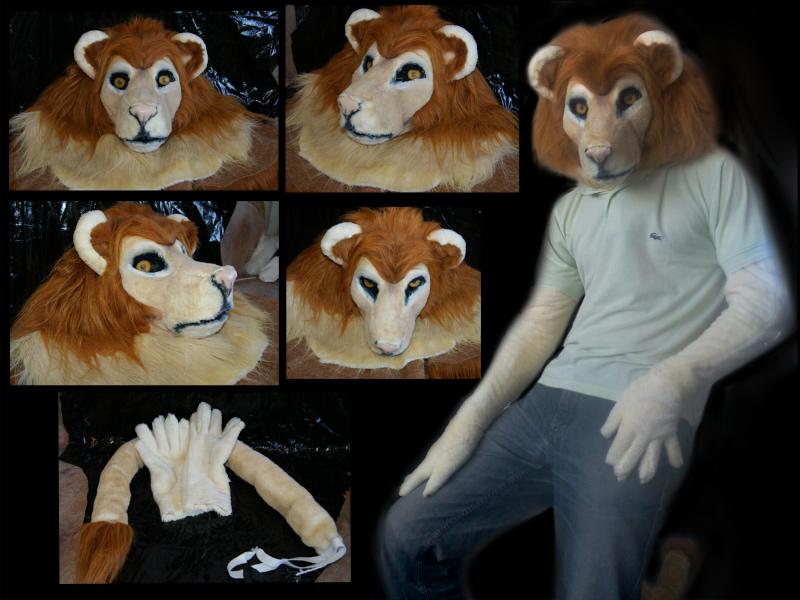 Lion partial fursuit (FOR SALE)