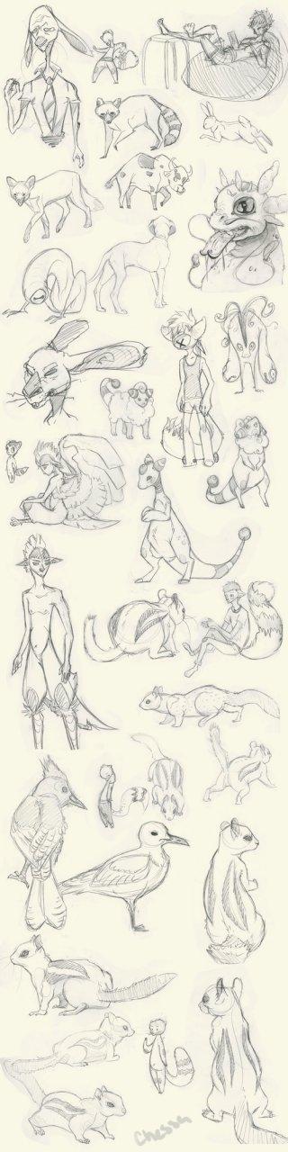 Sketchy Sketches 2