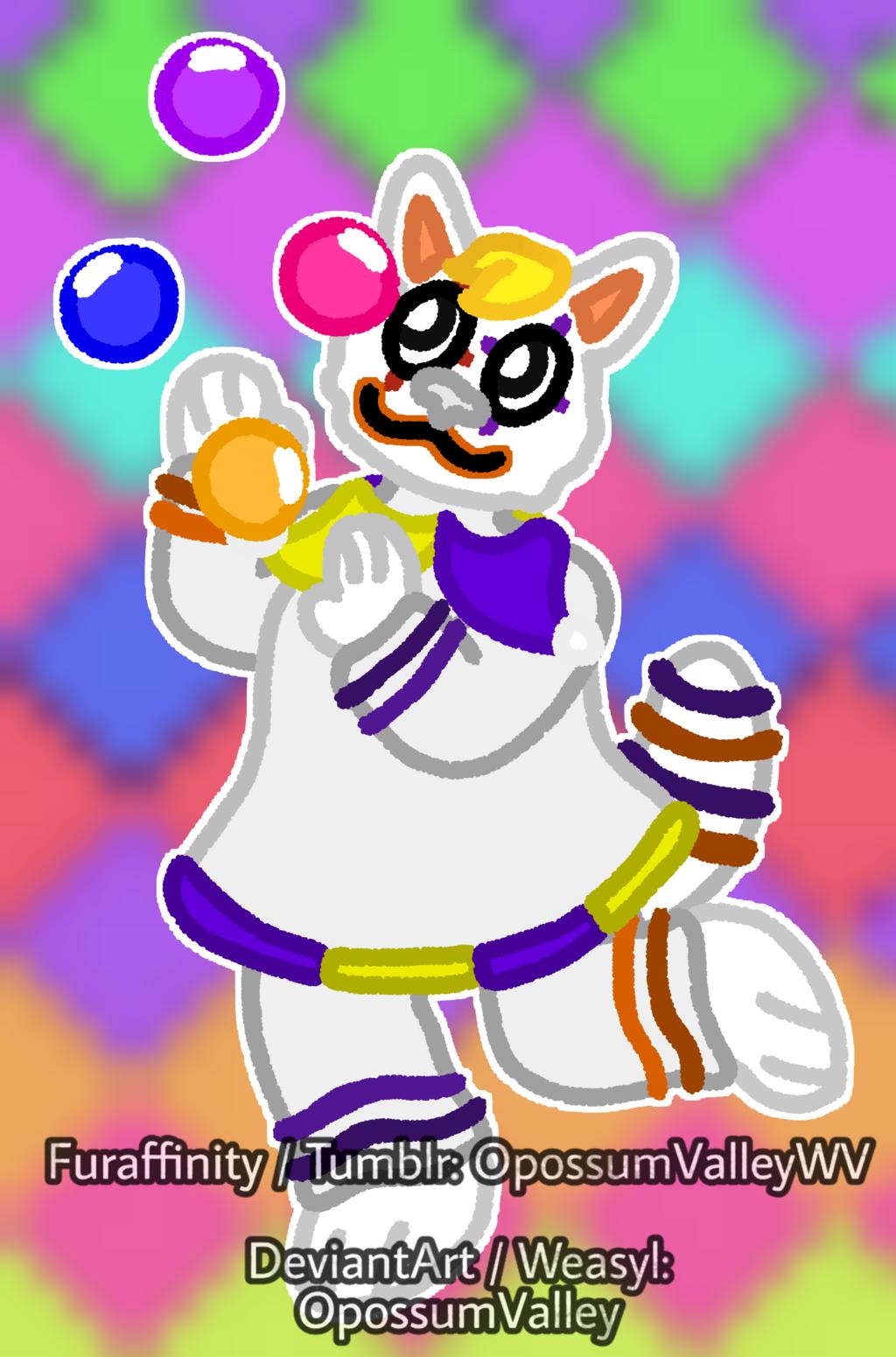 Talented Clowny Kitty!!