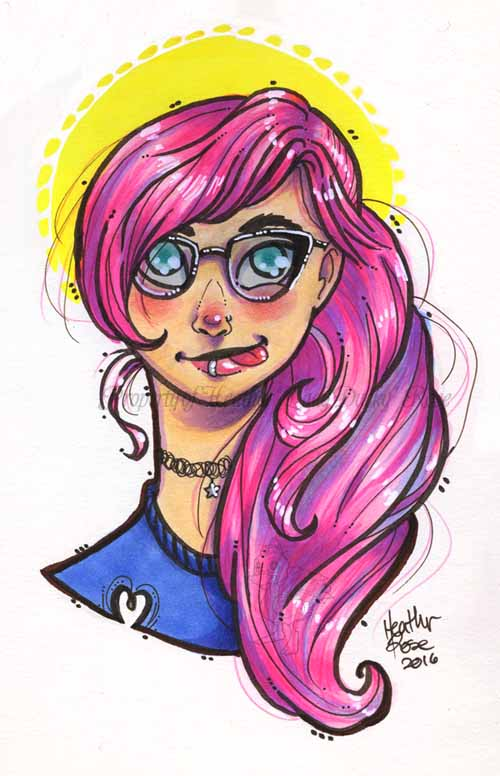 Personal: Pink Hair Derp