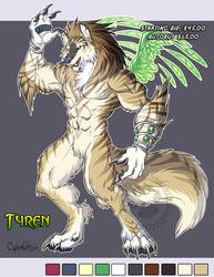 Adoptable Werewolf Tyren Starting Bid $45