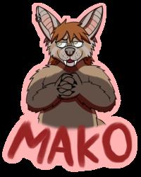 MFF 2018 badge commission for Makowolfen