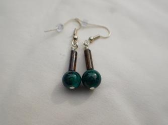 Agate Village Earrings