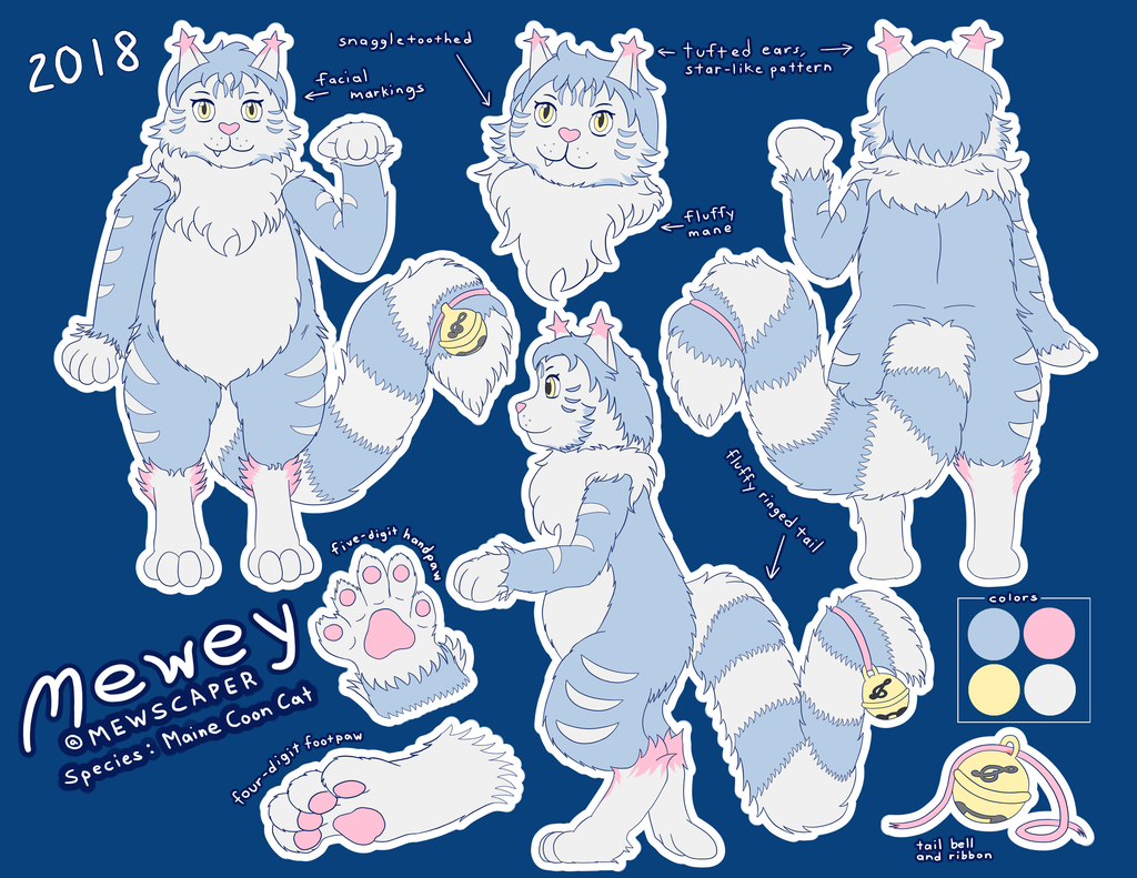 Most recent image: Mewscaper 2018 - Maine Coon Cat - Mewey - REFERENCE