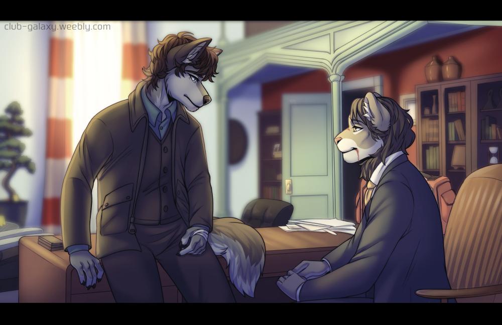 FANART - Hannibal, But Furry #1