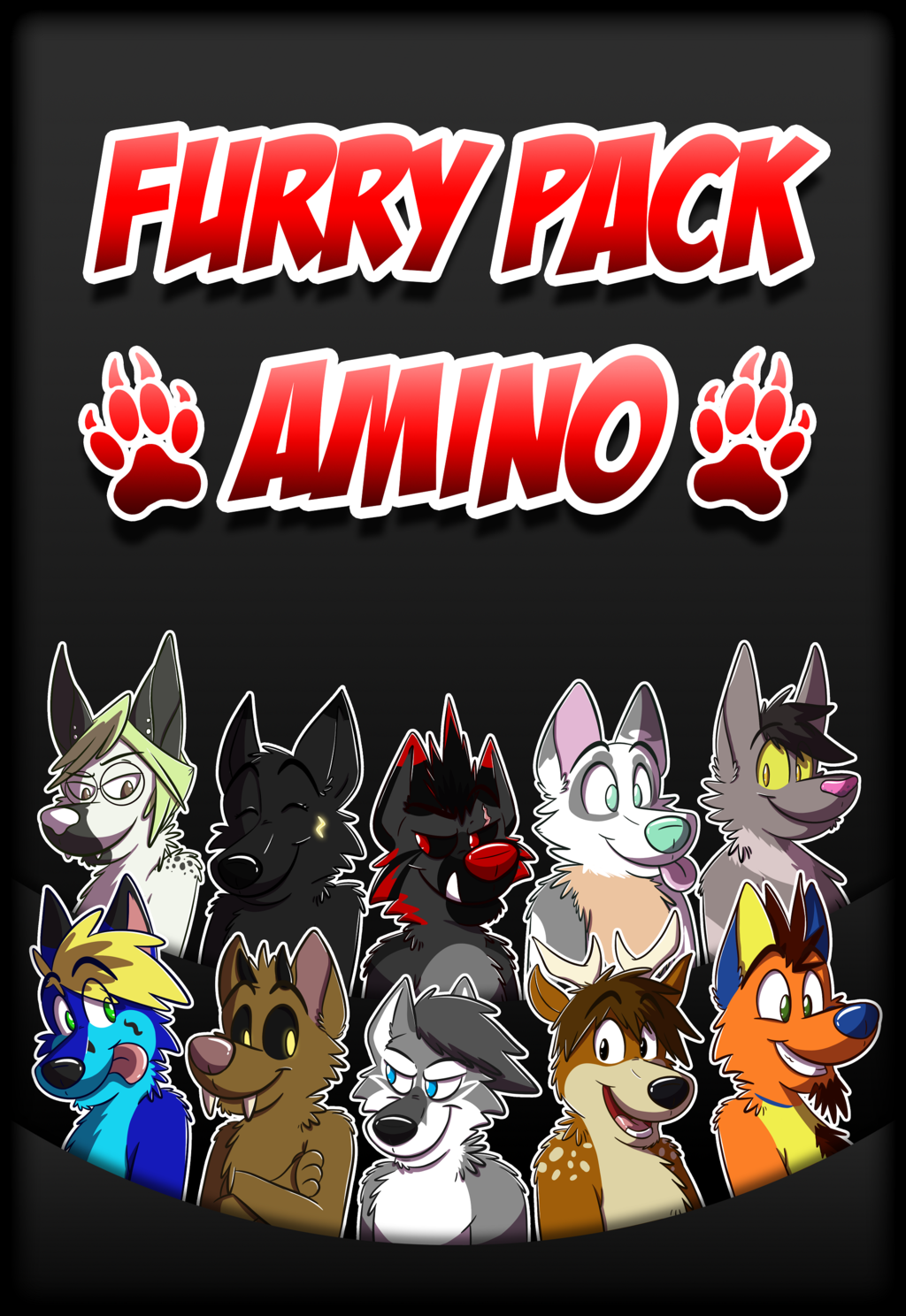 Furry Pack Amino Launch Screen (Request)
