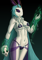 Necromancer Moth Lady