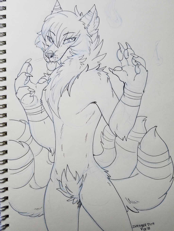 Most recent image: InkTober D.09 - Monster Takumi