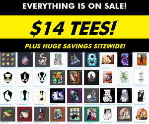 Teepublic Sale! $14 Tshirts and more! 16-20th