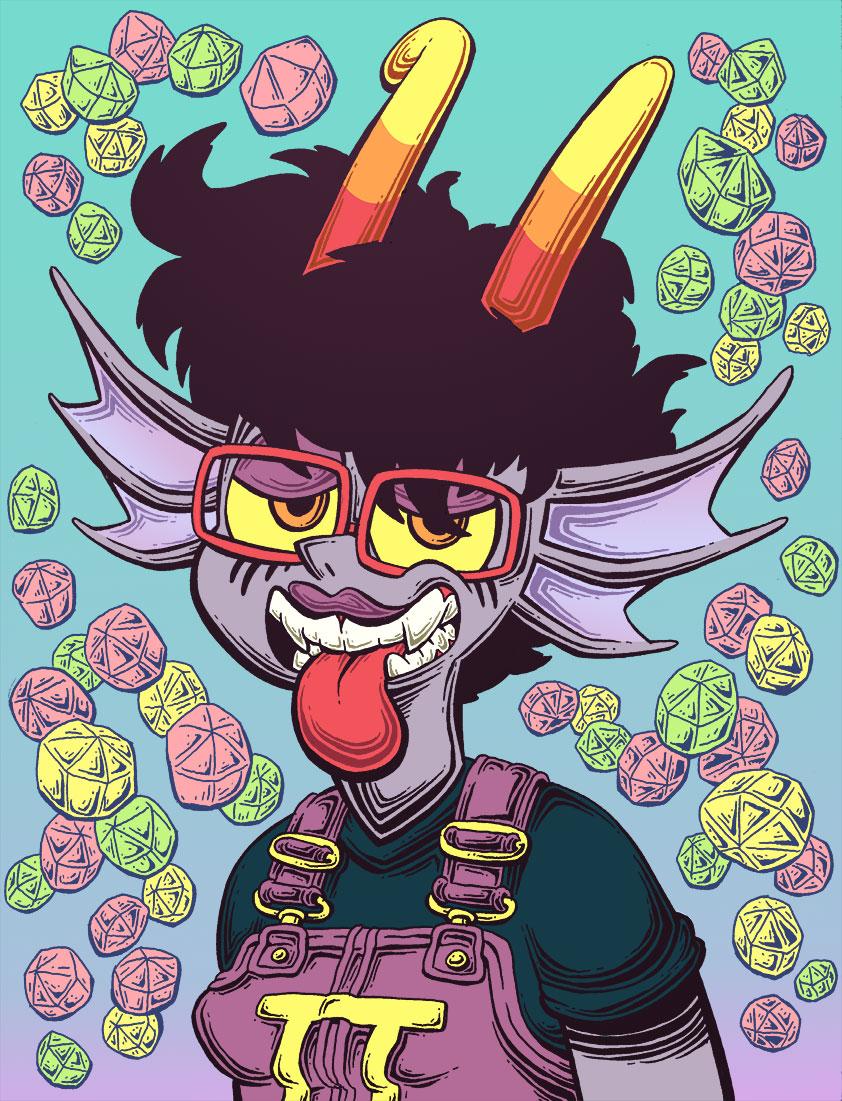 Seeley Priplo - Fan troll fan art