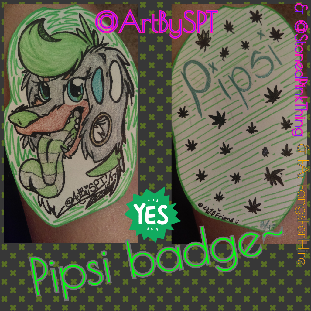 Badge for Pipsi (gift)