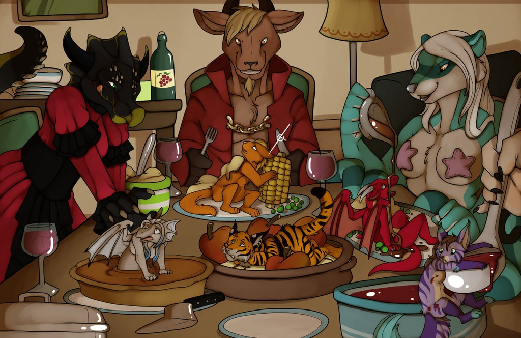 The Thanksgiving Feast!