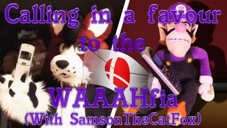 """Fursuiting: Waluigi Calls in a Favour to """"The GodFurther"""" (With SamsonTheCatFox)"""