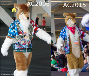 Anthrocon Parade, Then and Now