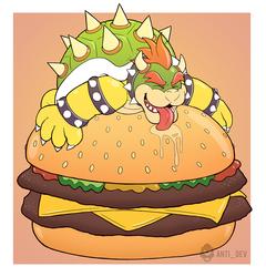 Bowser Burgers