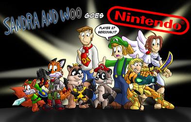Sandra and Woo goes Nintendo