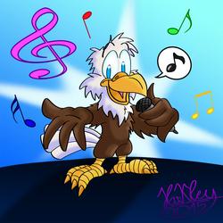 Singing ceagle