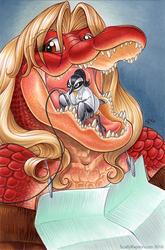 Gator Girl's Dental Cleaning