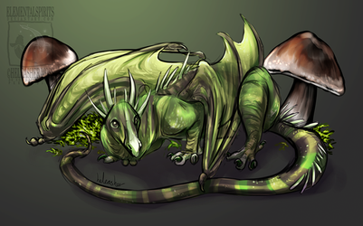 Tiny Forest Dragon