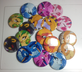 Eeveelution Buttons irl