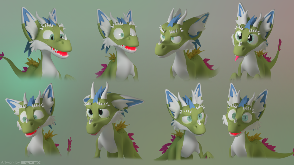Most recent image: Happo's Expressions