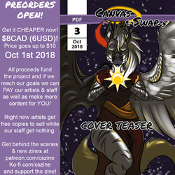 Canvas Swap Zine - Preorder Issue 3 - SALE