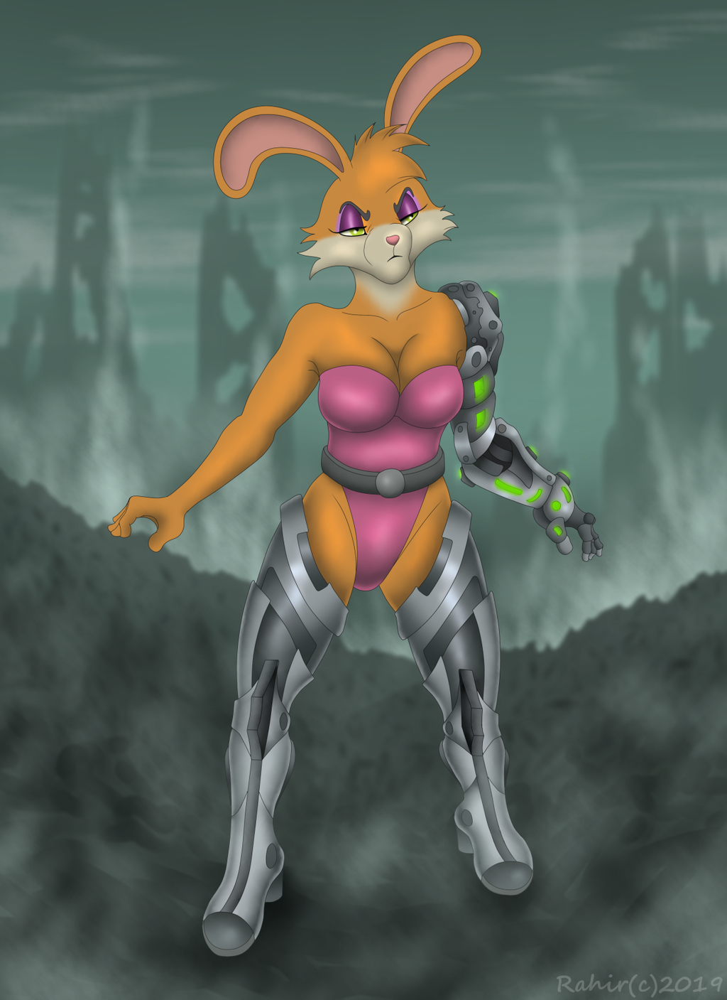 Most recent image: Bunny Rabbot